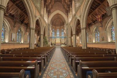 Bury Parish Church by Michael D Beckwith
