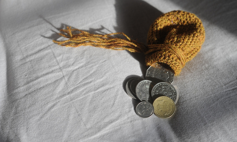 Crochet Coin Purse by Luke Martinelli