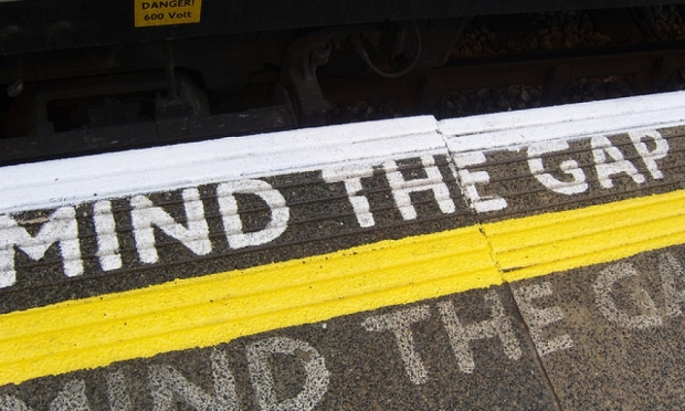 Mind the Gap! by BuhSnarf