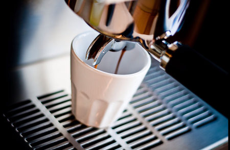 Espresso by Den late ku
