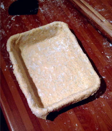 Suet pastry base