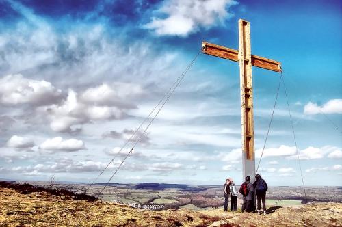 Easter Cross by Tom Blackwell